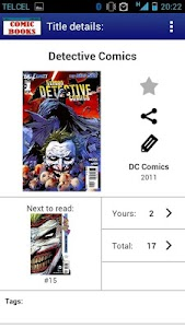 Comic Books Collector VE screenshot 3