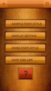 Tall Fonts Free for Android screenshot 0