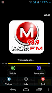 LA MEGA FM 98.9 screenshot 1