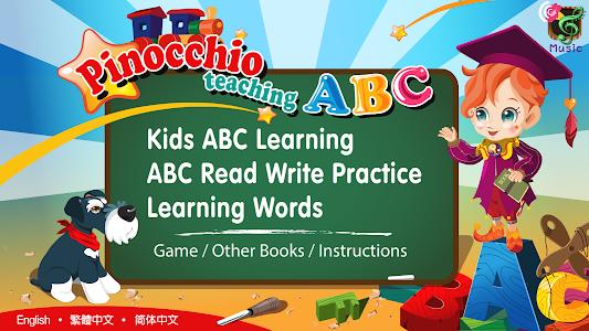 Pinocchio Teaching ABCs (Kids) screenshot 5