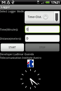 GPS LOGGER with KML screenshot 0