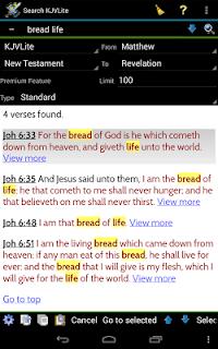 MySword Bible screenshot 16