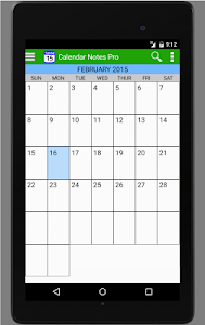 Calendar Notes Free screenshot 4