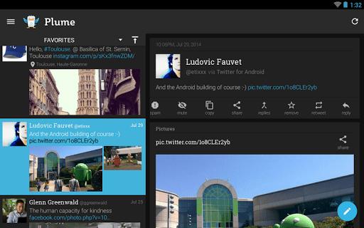 Plume for Twitter screenshot 10