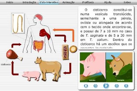 Teníase e Cisticercose screenshot 1