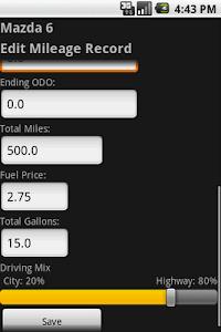 Mileage Tracker screenshot 0