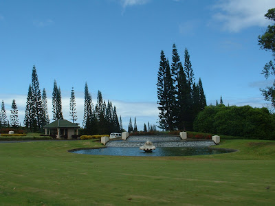Entrance to Princeville.