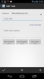 Zoum Tasks screenshot 1