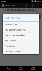 Chronic Pain Diary screenshot 2