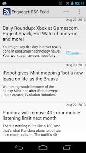 News Reader ( RSS - ATOM ) screenshot 1