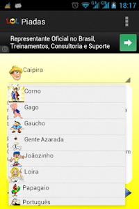 Piadas Brasileiras screenshot 2