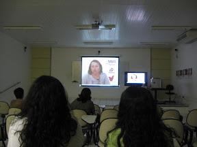 Abertura da videoconferência