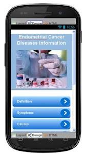 Endometrial Cancer Information screenshot 0