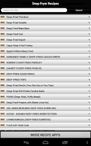 Deep Fryer Recipes screenshot 6