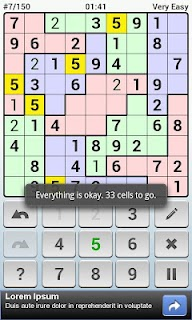 Andoku Sudoku 2 Free screenshot 04