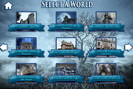 Hidden Objects Haunted Worlds screenshot 4