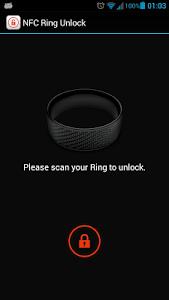 NFC Ring Unlock screenshot 0