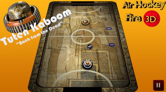 Air Hockey Fire 3D screenshot 2