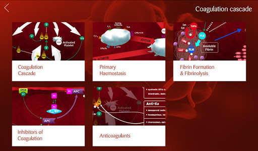 iHemostasis screenshot 1