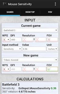 Download Mouse Sensitivity APK To PC Download Android