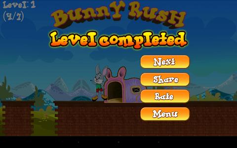 Bunny Rush Run screenshot 14