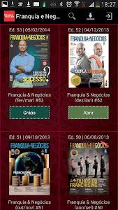 Revista Franquia e Negócios screenshot 0