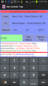 My Amtrak Trip screenshot 2
