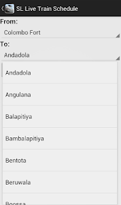 Sri Lankan Live Train Schedule screenshot 7