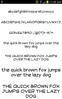 Write Fonts for FlipFont free screenshot 04