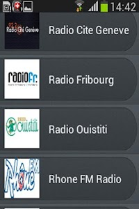 Radio Suisse screenshot 5