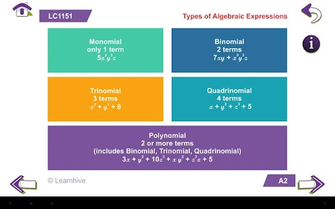 Grade 8 Math Learning Cards screenshot 10