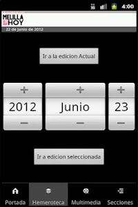 Melilla Hoy screenshot 1