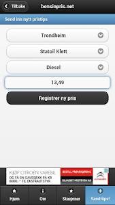 bensinpris.net screenshot 2