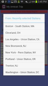My Amtrak Trip screenshot 4