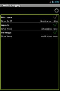 TODO List screenshot 1