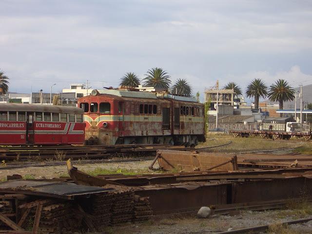 Ibarra Eisenbahnfriedhof
