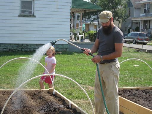 kyle watering