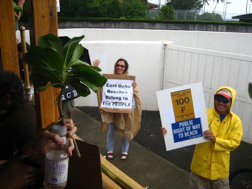 Rally in East Oahu