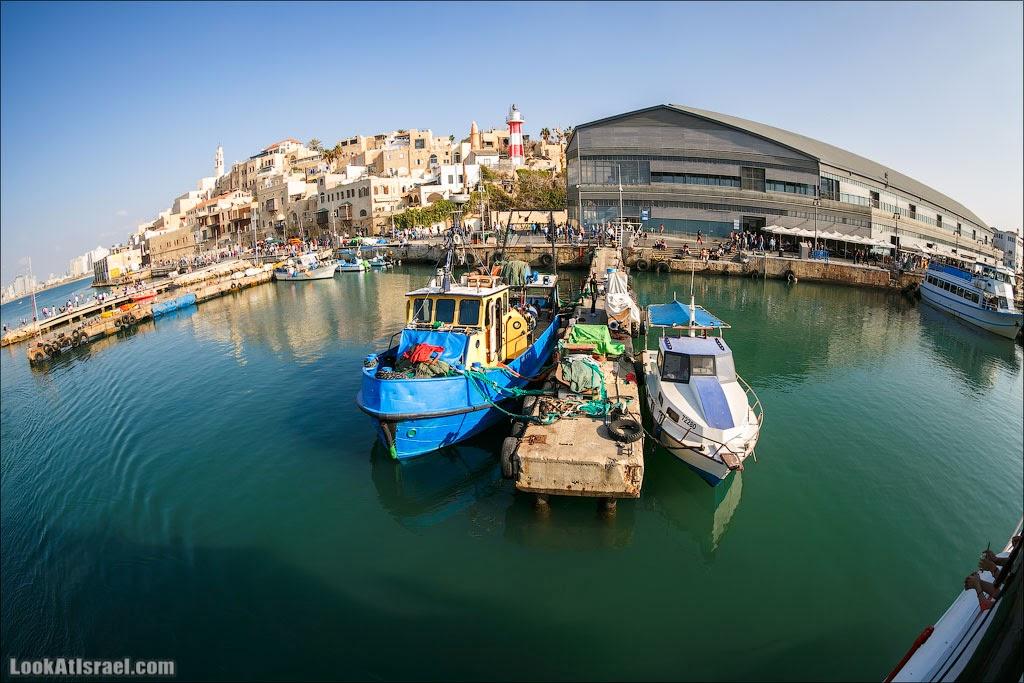 Порт в Яффо | Jaffa harbour | LookAtIsrael.com - Фото путешествия по Израилю