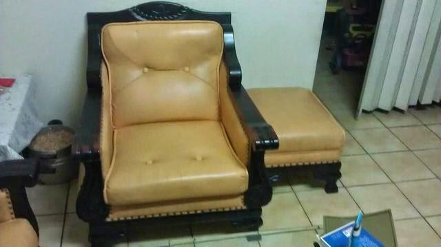 乳膠皮革沙發