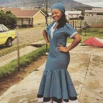50 Lesotho Shweshwe Dresses 2020 ‹� Fashiong4