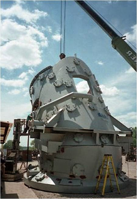 A Spray-Cooled BOF hood can be designed in multiple sections that will allow for easy removal for repair and maintenance.