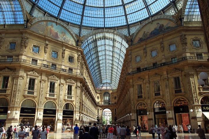 galería comercial Vittorio Emanuel II, Milán