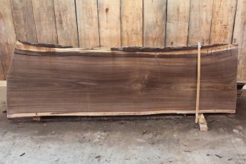"432 Walnut -4 2 1/2"" x 32"" x 27"" Wide x 8' Long"