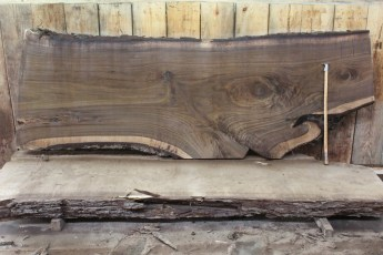 "451 Walnut -6 2 1/2"" x 43"" x 25"" Wide x 10' Long"