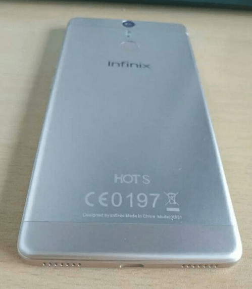 Check out Leaked Specifications Of The Infinix Hot S (x521) 2
