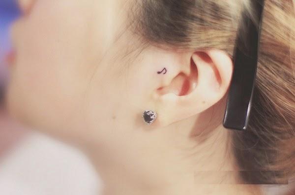 small music tattoos