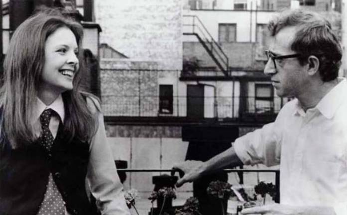 Woody Allen con Diane Keaton