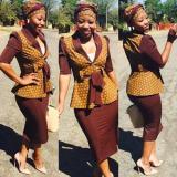 Shweshwe Fashion Dress 2018