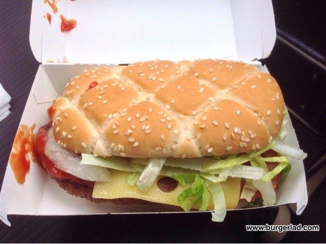 McDonald's My Burger The Ultimate Supreme